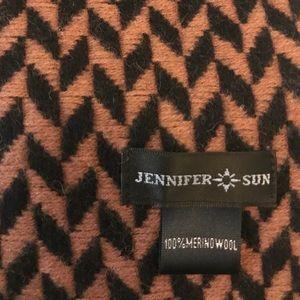 Jennifer Sun Herringbone Scarf/Shall